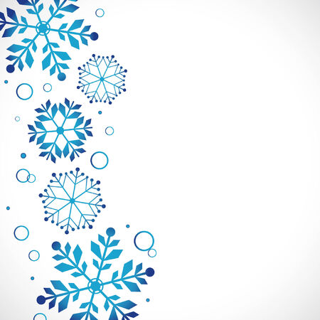 snow flakes: snow background, illustration