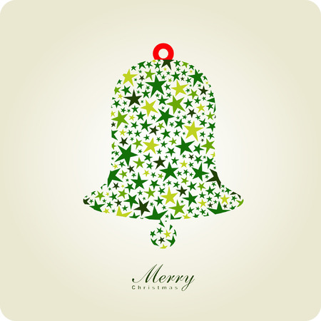bell of christmas card