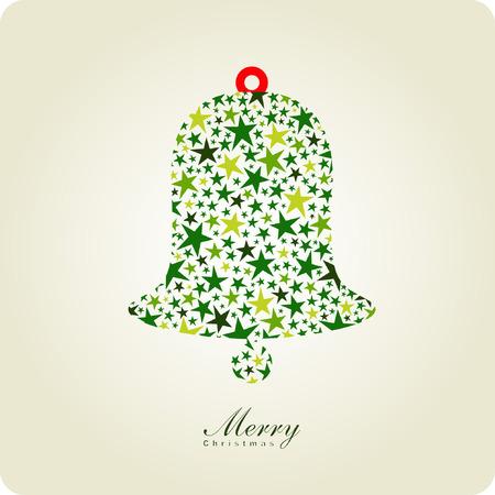 bells: bell of christmas card