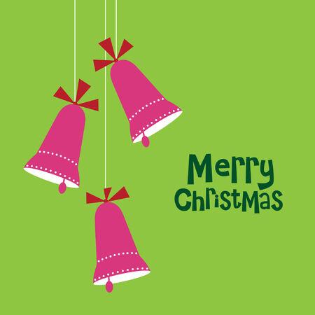 Christmas bells  Vector