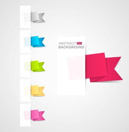 Paper origami speech bubble Stock Vector - 9350859