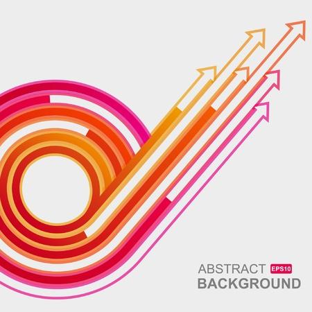 Colored arrows vector  Vector