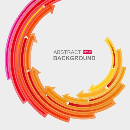 increases: Colored arrows vector  Illustration