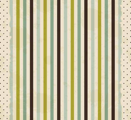vintage striped background  Vector