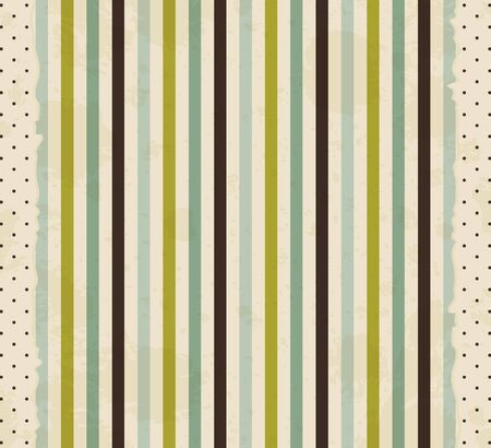 wrapping paper: vintage striped background