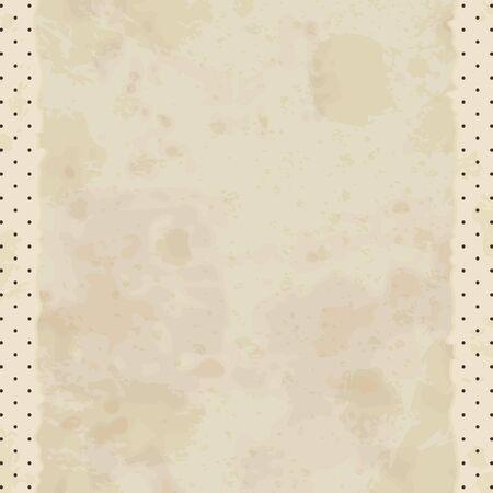 patched: vintage paper textures. Illustration