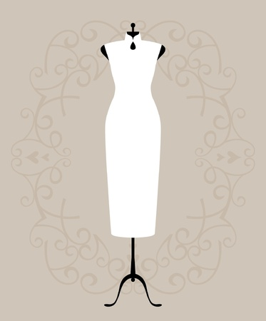 Vestido de novia  Foto de archivo - 10101476