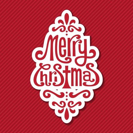 christmas frame: Christmas Tag