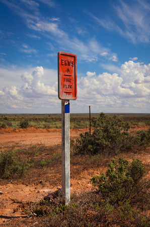 plug in: Emergency Fire Plug in  remote area Australian outback