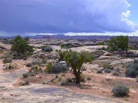 canyonlands: Storm over Canyonlands National Park
