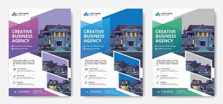 Corporate business flyer Фото со стока - 132048771