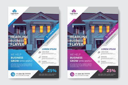 Corporate business flyer Фото со стока - 132048784