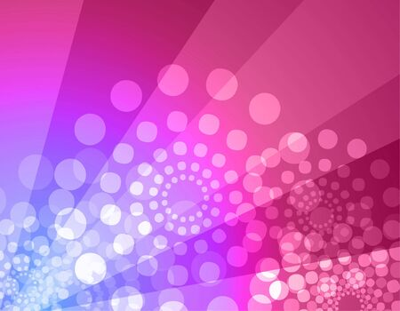 Vector illustration of disco atmosphere background with vibrant colors illustration