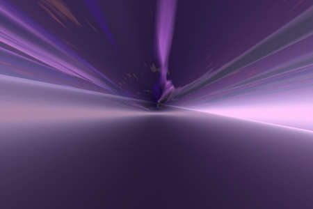 Abstract background of Hyperspace - infinite concept illustration