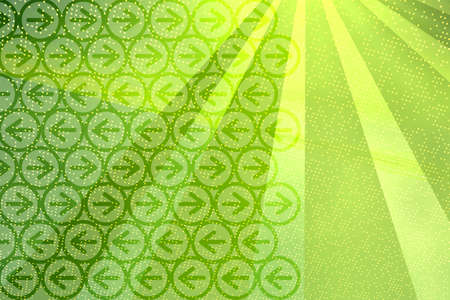 Digital background with rays and arrows
