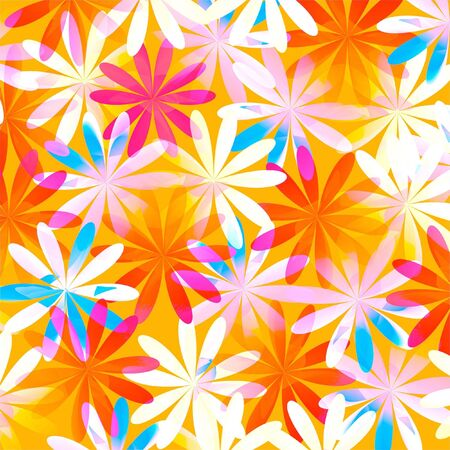 Abstract floral pattern background photo