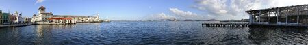 Havana - circa NOV 2008. panoramic view of Havana Harbor, Cuba. This is where most vessels coming to the island make port. Stock Photo - 6983749