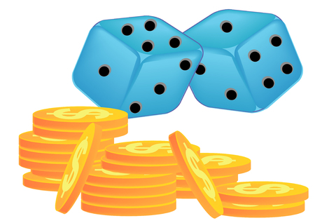 Dice Game Stock Vector - 3347806