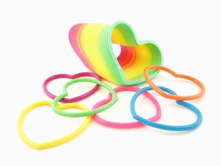 slinky: Colorful Hearts and Slinky