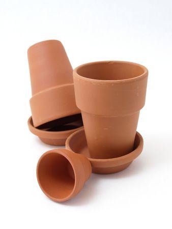 Various Flower Pots Stock Photo - 4454832