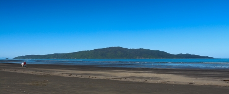 Kapiti Island is a nature reserve for New Zealand native birds,