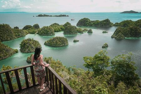 Piaynemo is the iconic spot of Raja Ampat, West Papua Indonesia.