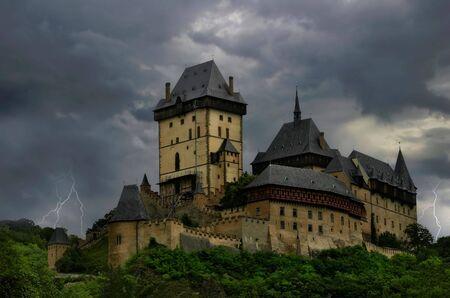 The Castle. Stock Photo