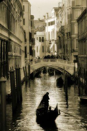 Venice. Canal #3. Stock Photo