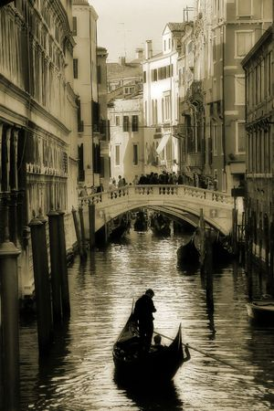 Venice. Canal #3. Stock Photo