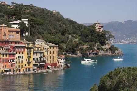 Portofino- small italian village on Ligurian sea.