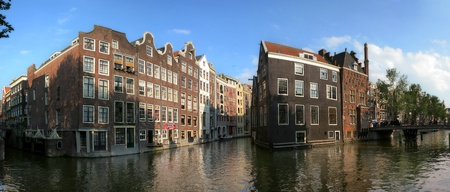 Panoramic cityscape view of Amsterdam, Netherlands. Stock Photo - 11906065