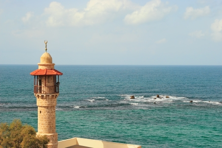 yaffo: Old mosque Stock Photo