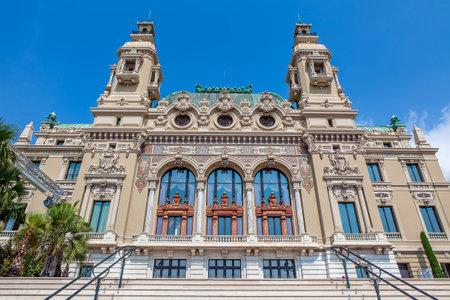 carlo: Facade of Sale Garnier - entertainment complex containing opera house and Casino in Monte Carlo, Monaco