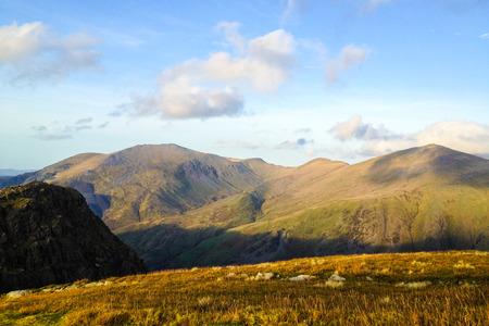 snowdonia: Beautiful landscape of Snowdonia National Park, Wales, United Kingdom Stock Photo