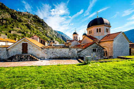 St. Nicholas church in Kotor old city, Montenegro