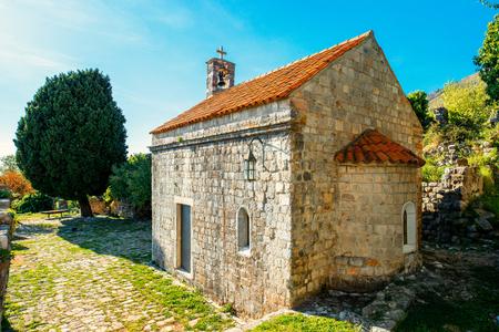 vladimir: St. Jovan Vladimir church in old Bar city, Montenegro