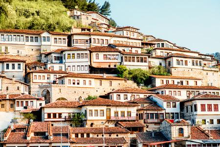 Historische stad Berat in Albanië