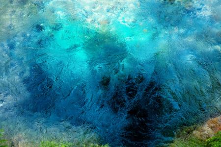 национальной достопримечательностью: Национальный ориентир весна Голубой Глаз в Албании Фото со стока