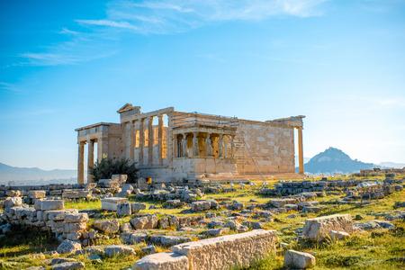 temple Erechthéion Acropole à Athènes, Grèce