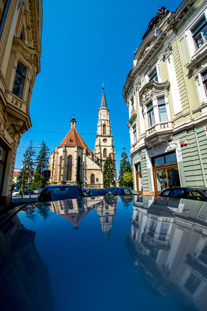 cluj: Michaels church in Cluj Napoca in Romania