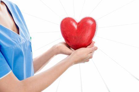 forme: Cardiologue avec forme de coeur