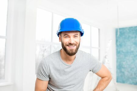 plasterer: Builder or repairman indoor portrait