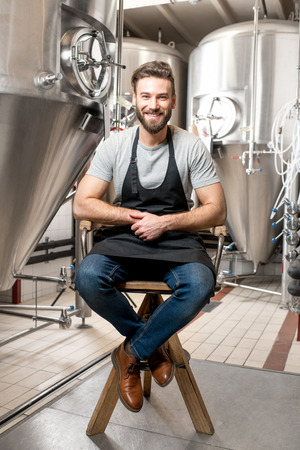 the brewer: Brewer at the manufacture