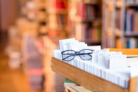図書館のカード目録