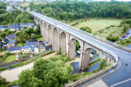 normandy: Dinan town in France