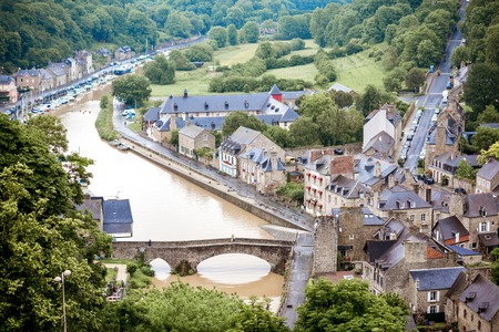 Dinan town in France