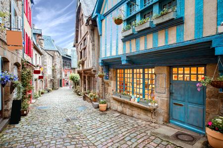 La ville de Dinan en France