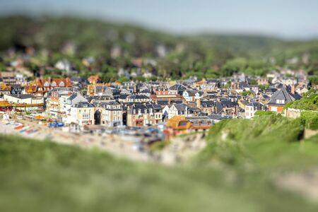 フランスのエトルタの町