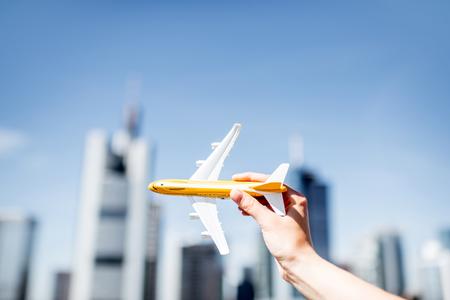 Air transportation concept in Frankfurt