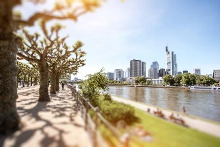 am: Frankfurt am Main cityscape